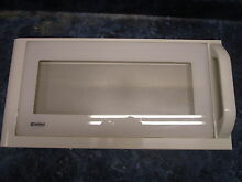 KENMORE MICROWAVE DOOR WHITE PART 3581W1A130B
