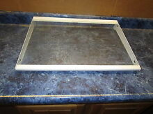 KENMORE REFRIGERATOR LARGE SHELF WITH WAVY LINES PART  240373104 240443906