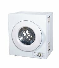 Magic Chef Electric Compact Laundry Dryer in White 2 6 cu  ft  MCSDRY1S New