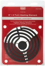 Burner For Electric Range Home Black Replacement 4 Turn Coils New Free Shipping