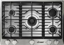 DACOR Renaissance 36 Inch 5 Sealed Burners SS Gas Cooktop RNCT365GSNGH