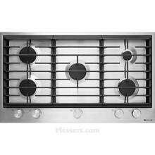 JENN AIR 36 inch low profile  19 000 BTU Gas Cooktop Stainless Steel JGC1536BS