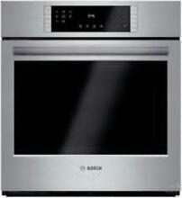 BOSCH 27  12 Modes European Convection Single Electric Wall Oven HBN8451UC