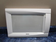 KENMORE MICROWAVE DOOR WHITE PART  3581W1A372B