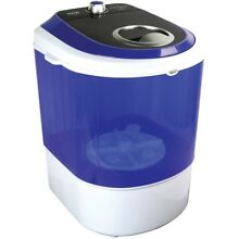 Pyle Compact   Portable Washing Machine with Mini Laundry Clothes Washer  White