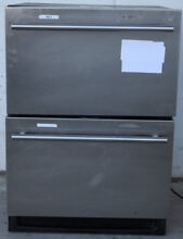 U LINE U 2275DWRCS 00 24  BUILT IN DOUBLE DRAWER UNDER COUNTER REFRIGERATOR  2