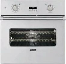 Viking Professional 30  Rapid Preheat Single Electric Wall Oven VESO1302SS
