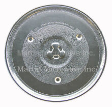 Oster   Rival Microwave Glass Turntable Plate   Tray 10 1 2    252100500497