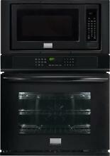 Frigidaire Gallery Series 27  True Convection Combination Wall Oven FGMC2765PB