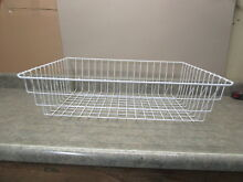 FRIGIDAIRE REFRIGERATOR LOWER FREEZER BASKET PART  242026802