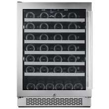Avallon AWC241SZLH 24  Wide 54 Bottle Capacity Single Zone Wine Cooler