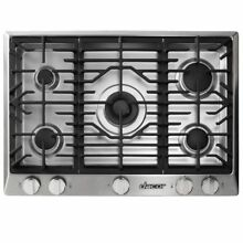Dacor Renaissance 36  Gas Cooktop Stainless Steel Natural Gas RNCT365GSNG