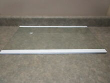 WHIRLPOOL REFRIGERATOR SHELF 25 1 4 13 8 7  PART  W10628707