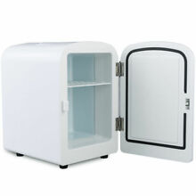 4L Portable Small Mini Fridge Refrigerator Cooler Warmer Hot Cold Car Boat Dorm