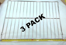 3 Pk  Oven Rack for General Electric  Hotpoint  AP2031155  PS249581  WB48T10011