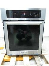 KitchenAid  24  3 1 C F Preheat Stainless Single Convection Wall Oven KOSC504ESS