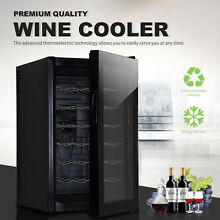 KUPPET Wine Cooler 28 Bottles Fridge Storage Cabinet Holder Chiller Bar Rack