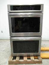Frigidaire 30  4 6 Smudge Proof Stainless Electric Double Wall Oven FGET3065PF