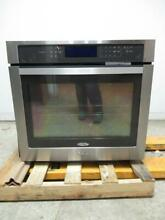 Whirlpool 30  5 0 Cu  Ft Stainless Steel Single Electric Wall Oven WOS97ES0ES