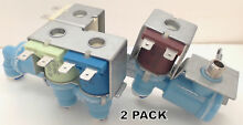 2 Pk  Refrigerator Water Valve for Frigidaire  AP5669874  PS7321353  242253002