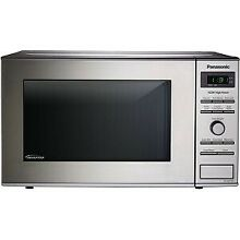 Panasonic NN SD372SR   0 8 Cu  Ft  Microwave   Stainless steel