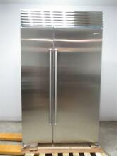 Sub Zero 48 Inch Stainless Built in SS Side by Side Refrigerator BI48SIDSPH
