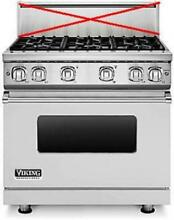 Viking Professional 7 Serie 36  6 Sealed Burners Pro Style Gas Range VGR7366BSS