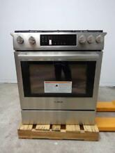 Bosch 800 Series 30  Slide in Gas Range HGI8054UC Stainless Steel