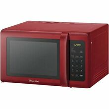 Magic Chef Microwave MCD993R 0 9 Cubic ft Countertop  Red