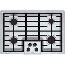 Bosch NGM5055UC 30 Inch Gas Cooktop with Automatic Electronic Re Ignition