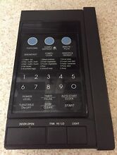 Sharp Microwave Touchpad and  Control Panel DPWBFB030MRU0 Black Complete