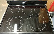 Black cooktop Frigadaire 316531953 Smooth top NIB