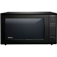Panasonic NN SN936B 2 2 Cu  Ft  Counter Top Microwave Oven   Black
