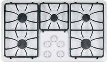 GE  JGP633DETWW 36 Inch White Gas Cooktop