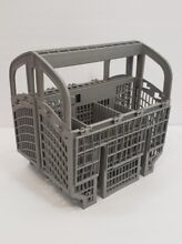 Universal Dishwasher Cutlery Silverware Basket Holder Grey two in 1