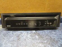 KENMORE DISHWASHER CONTROL PANEL BLACK PART 3384778