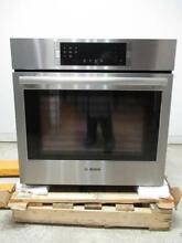 Bosch 800 30  4 6 cu  ft  Eco Clean Single SS Electric Convection Oven HBL8451UC