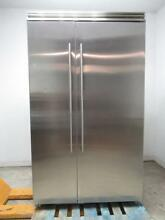 Marvel Professional Series 48 Inch Built In Side by Side Refrigerator MP48SS2NS