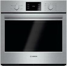 Bosch 500 30  4 6 cu ft SuperCool Thermal Single Electric Wall Oven HBL5351UC