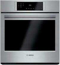Bosch 27  4 1 cu  ft EcoClean Convection Single Electric Wall Oven HBN8451UC