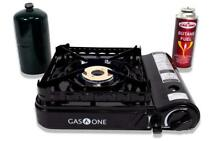 GAS ONE GS 3900P Dual Fuel Propane or Butane Portable stove with Brass