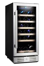 Kalamera 15  Wine Cooler 30 Bottle Built in or Freestanding with Stainless