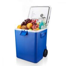 Housmile Wheeled Electric Cooler and Warmer  30 Quart Portable Car