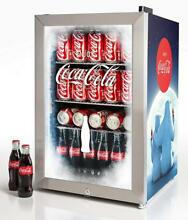 Nostalgia BC24COKE Coca Cola 80 Can Commercial Beverage Cooler
