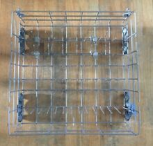 Kitchen Aid Whirlpool Dishwasher Dish Washer Lower Rack W10380385 w  Wheels