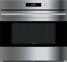 Wolf E Series 30 Inch 10 Cooking Modes Single SS Electric Wall Oven SO30TESTH