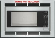 Thermador 24  2 1 CU FT  1200 Watts 10 Power Levels Built in Microwave MBES