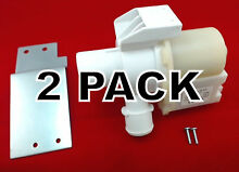 2 Pk  Washer Drain Pump   Motor for General Electric AP5803461  WH23X10030
