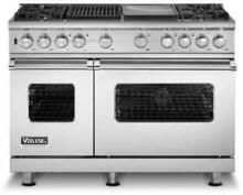 Viking Professional 48  4 Sealed Burners Pro Style Dual Fuel Range VDSC5484GQSS
