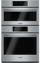 Bosch 800 Series 30  10 Cooking Program Microwave Combination Oven HBL87M52UC
